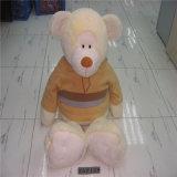 O GV aprovou o logotipo bonito marcado urso relativo à promoção da peluche