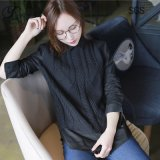Due camice di stile delle donne di colore ----Parte anteriore con il maglione 100% del cotone