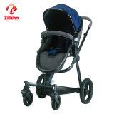 Baby-Spaziergänger mit Rahmen und regelmäßigem Sitz- und regelmäßigem Carrycot
