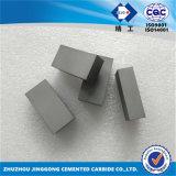 Desgaste Palte do carboneto de tungstênio do bloco do carboneto de tungstênio, espaço em branco do carboneto cimentado