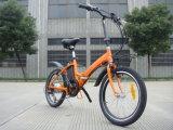 Bici elettrica leggera per la ragazza/ragazzo che piega gomma grassa En15194
