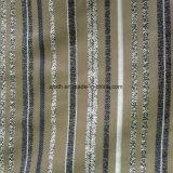 100% poliéster tejido Jacquard tejido sofá fabricado en China