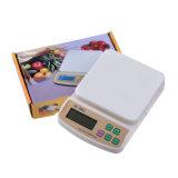 Balanza digital de Plástico PP Escala con 2X1.5V AAA Kdb-1