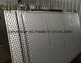 능률적인 Laser 용접 돋을새김된 디자인 열 교환 격판덮개 난방 격판덮개