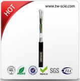 Coeurs de 2-144 G652D GYTA /Gysta Câble à fibres optiques avec gaine PE Noire