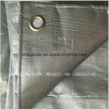Уф рассматривать 8X8 плетение PE брезент оранжевый конкретные одеяло с пеной