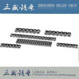 Catena del rullo dell'acciaio inossidabile con plastica per la macchina per l'imballaggio delle merci