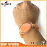 125kHz/13.56MHz impermeabilizan la pulsera del PVC RFID para el cuarto de baño /Sauna