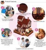 2017 cabritos de madera de los juguetes del nuevo cabrito educativo del diseño