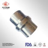 4 pulgadas de casquillo de acero inoxidable sanitario el adaptador de tubería