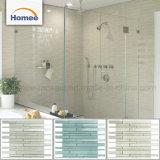 Bathroom를 위한 최신 Sale Wholesale 빛 녹색 Glass Backsplash Mosaic Tiles