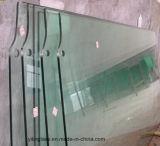 Vidrio verde teñido Tempered para el edificio, muebles, decoración