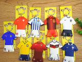 최신 판매 창조적인 유럽 컵 축구 열쇠 고리