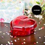 Boîte acrylique coeur bijoux & cosmétiques ou de stockage de boîte cadeau pour les filles