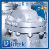 Válvula de puerta de Wcb del borde del volante de dirección de Didtek para la refinería