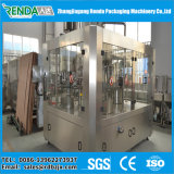 Máquina de envasado de jugo de tapa de metal de la planta de llenado de jugo de la botella de cristal
