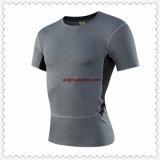 Custom Sportswear hommes T-shirt de compression de haute qualité