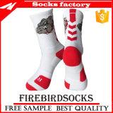 Massensport-athletischer weicher strickender Socken-Zoll Ihre eigenen Socken