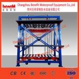 Schiefer-Deckel-selbstklebende Sbs/APP geänderte Bitumen-wasserdichte Membranen-Maschinerie