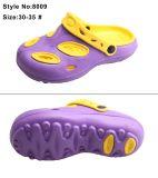 Красочной классической два тона двойной цвет детей в отверстие для серии EVA засорению обувь