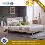 より安く快適な寝室の家具の木のベッド(HX-8NR0780)