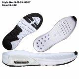 Suole della scarpa da tennis dell'aria, suole correnti di sport con il cuscino d'aria
