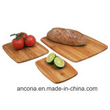 Bamboo разделочная доска оборудует естественную Bamboo доску сервировки пиццы для сандвича