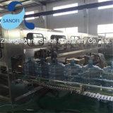 3-5 갤런 애완 동물 병 Barreled 식용수 충전물 기계 생산 라인 액체 기계장치