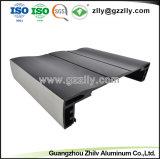 De douane borstelde de Geanodiseerde Uitdrijving van het Aluminium voor Heatsink met ISO9001
