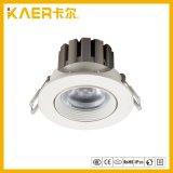 Encastré dans le dispositif d'éclairage LED Spot de lumière vers le bas de plafond 9W