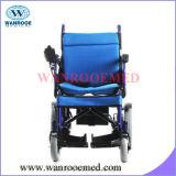 Fáciles ligeros ajustables Bwhe602 llevan el sillón de ruedas eléctrico accionado plegable