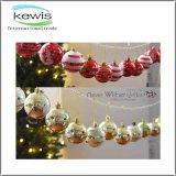 Bola de cristal de la Navidad brillante de la bola de la Navidad para la decoración de la Navidad