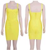 Venda por grosso de vestuário bandagem coloridos vestido de celebridades apertado vestidos de Cocktail 2018