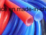 Tubo della gomma di silicone con il commestibile e medico
