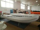 Liya лодки для рыбалки алюминиевых малых Dinghy с электродвигателем