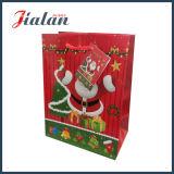 Nouveau design bon marché de Noël 2016 Personnaliser sac de papier imprimé en 3D