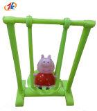Het promotie Mini Plastic Stuk speelgoed van het Spel van het Varken van de Schommeling voor Jonge geitjes