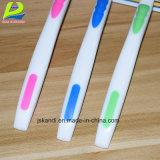Adultos cuidado bucal Cepillo de Dientes personalizados de procesamiento de plástico