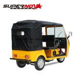 Triciclo pesado do passageiro do carregamento