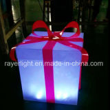 Caixa de presente da decoração da iluminação do diodo emissor de luz para a alameda do transporte do festival