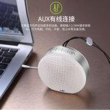 Mini altoparlante impermeabile degli altoparlanti 2018 portatili Pendant esterni circolari di Bluetooth