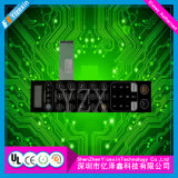 Interruttore di goffratura del comitato di tocco della membrana del pulsante del prodotto professionale della Cina