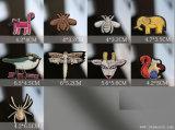 Il Sequin della zona del ricamo 3D del Rhinestone di Zoolog borda gli accessori dell'indumento