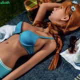 poupées réalistes de sexe de sein de 140cm de silicones de poupée adulte moyenne d'amour