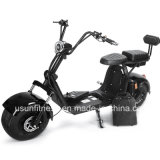 A motocicleta elétrica barata com 2 unidades remove a bateria