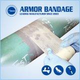 Fibra de vidrio de alta resistencia de envoltura de arreglar la cinta para fugas de tubo de reparación de la corrosión y protección