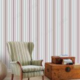 Preiswerte und feine Luxuxstreifen-Entwurfs-Wandverkleidungs-Innenwand-dekorative geprägte Tapete