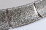 고품질 B 단면도 대리석 돌을%s 전기도금을 하는 다이아몬드 바퀴