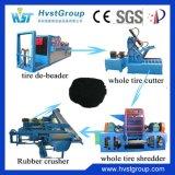 高品質の生産ラインをリサイクルする不用なタイヤに使用するゴム製粉砕機機械