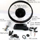 민첩한 48V 1000W 전기 자전거 뚱뚱한 타이어 모터 장비